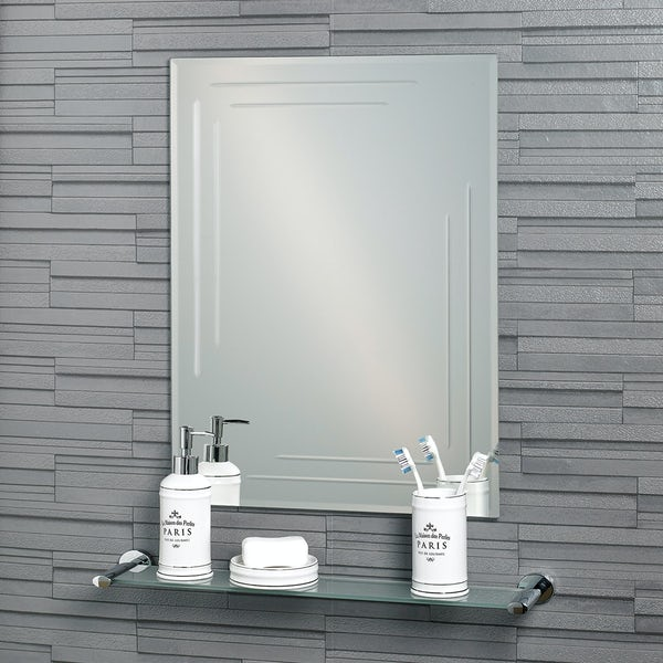 Showerdrape Chelsea 60cm x 45cm rectangular mirror