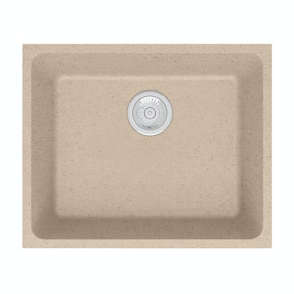 Schon Terre Sand 1.0 bowl reversible undercounter kitchen sink