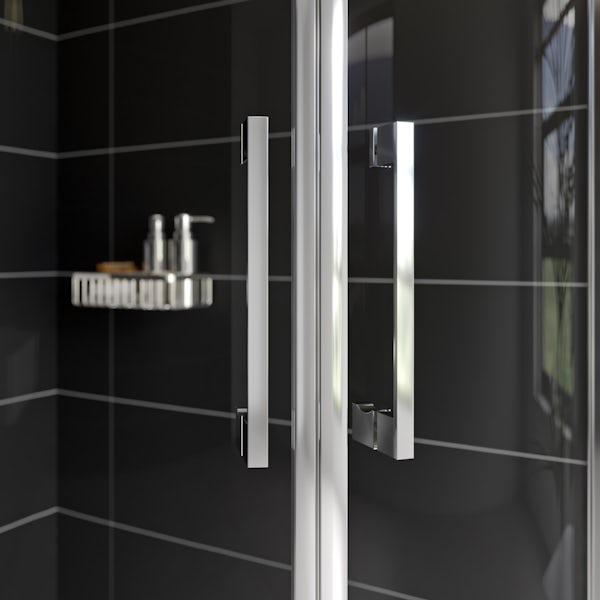 Mode Adler 8mm framed offset quadrant shower enclosure