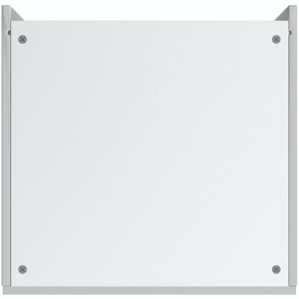 Schon Chicago light grey slab 600mm single oven housing unit