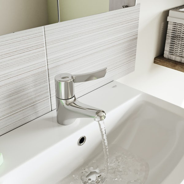 Kirke Sequential single lever basin mixer tap