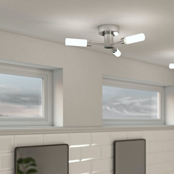 Ceiling Light Offers: Forum Arinna 3 Light Bathroom Ceiling Light