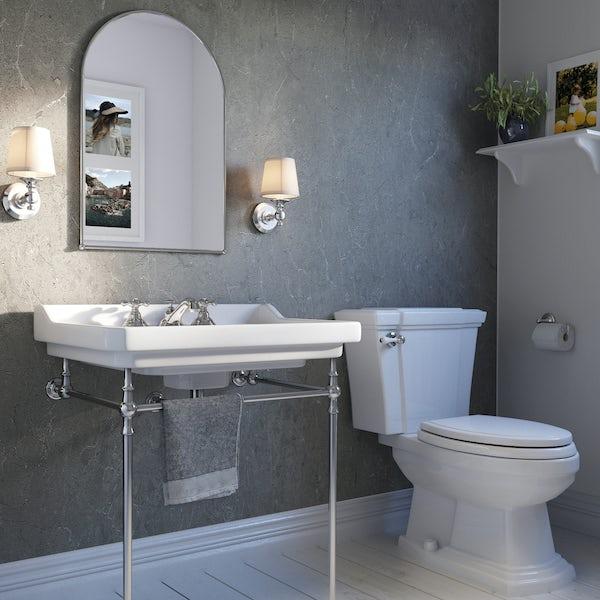 Showerwall Zamora Marble waterproof shower wall panel