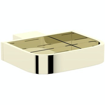 Mode Spencer gold soap dish