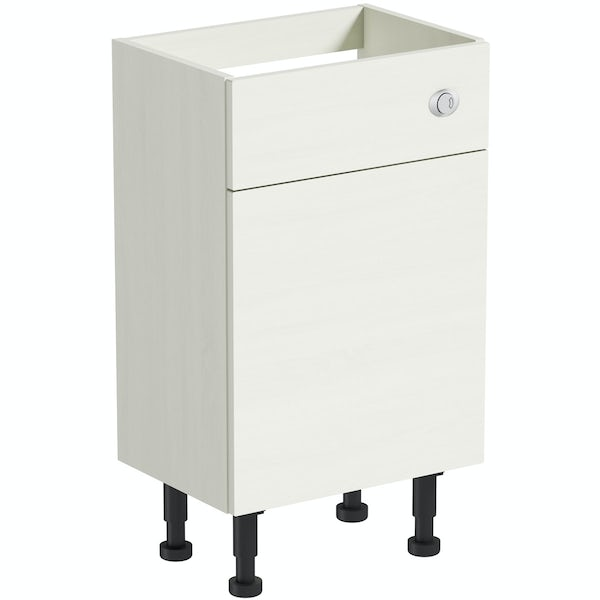 The Bath Co. Newbury white back to wall toilet unit 500mm