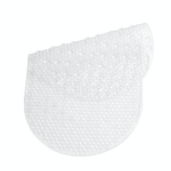 PVC clear bath mat