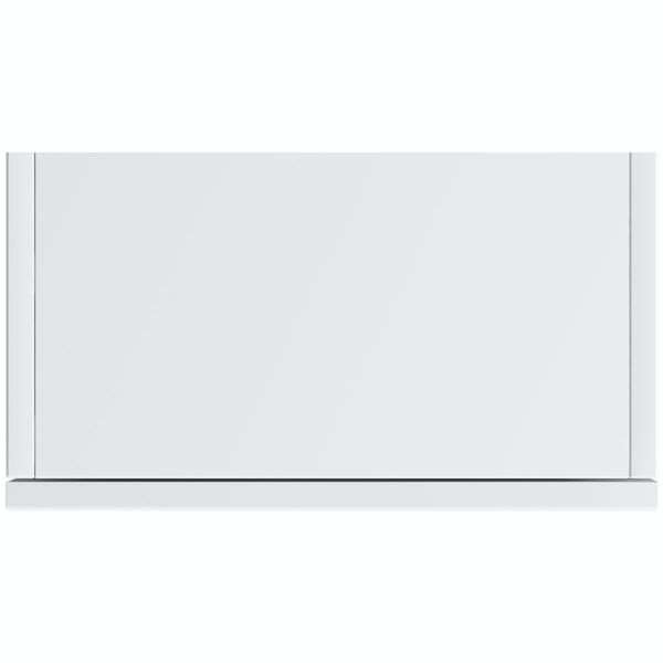 Mode Hardy white wall hung cabinet 1400 x 400mm