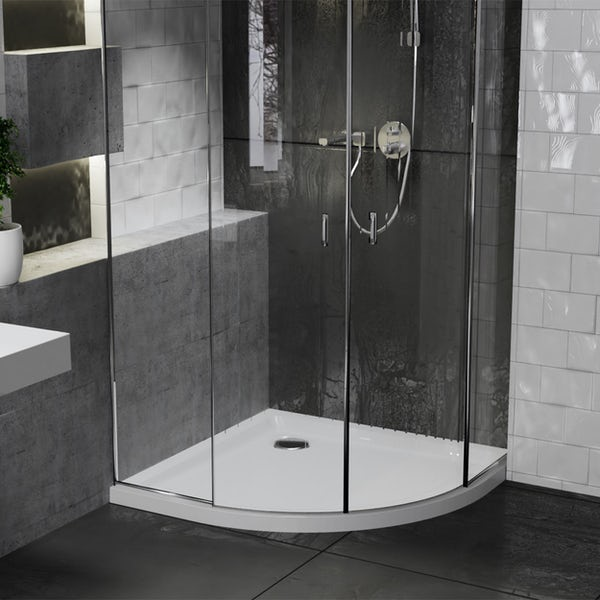 Orchard anti-slip quadrant stone shower tray
