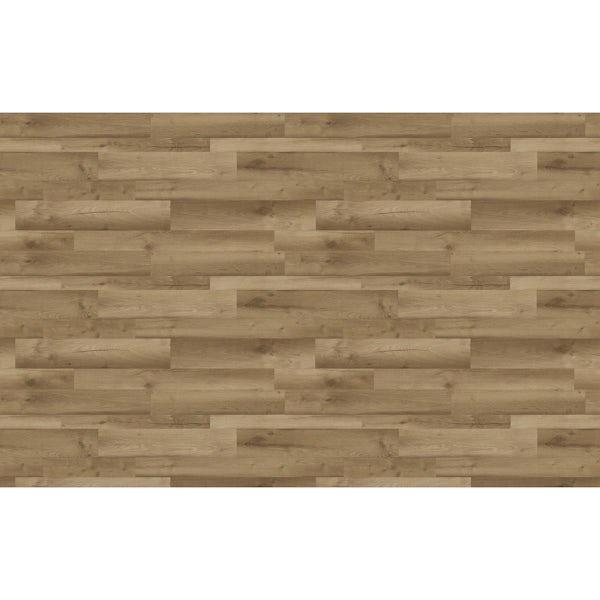 Bushboard Omega Natural blocked oak midway splashback 3000 x 600