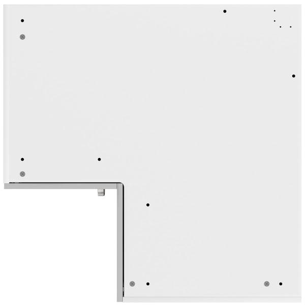 Schon Boston light grey slab 950mm corner base unit