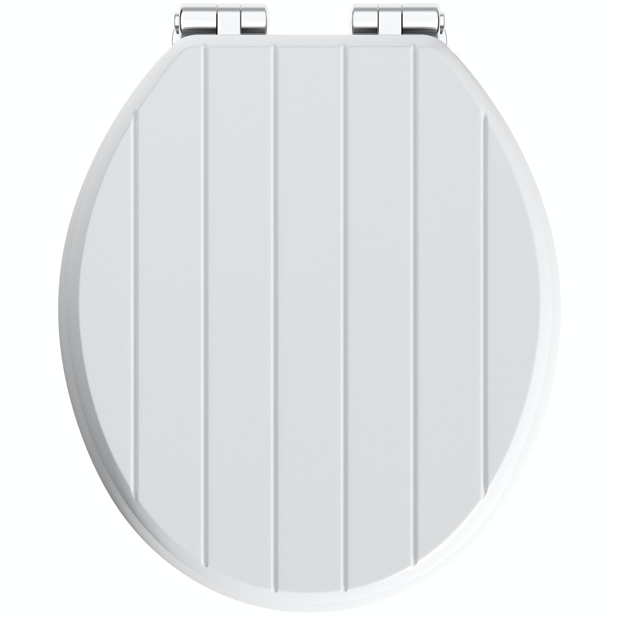 Fine The Bath Co Traditional White Engineered Wood Tongue And Groove Toilet Seat With Top Fixing Soft Close Hinge Onthecornerstone Fun Painted Chair Ideas Images Onthecornerstoneorg