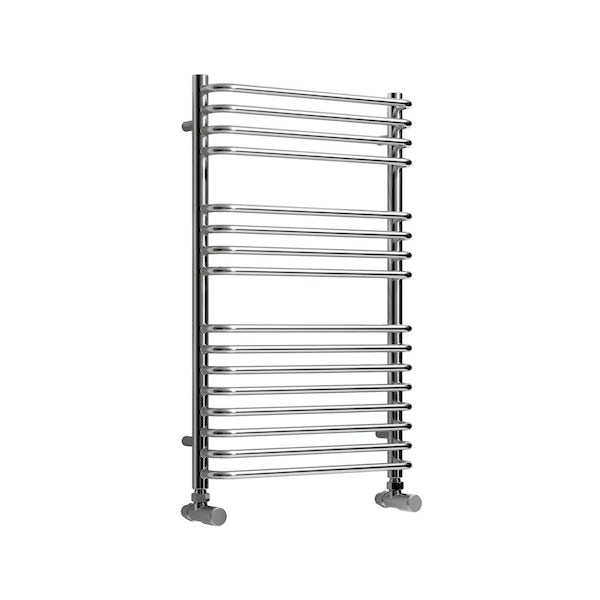 Reina Isaro chrome steel designer radiator