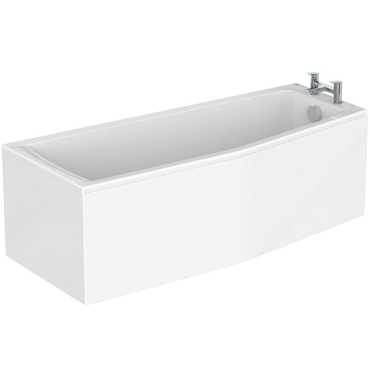 Ideal Standard Concept Space right handed shower bath 1700 x 700