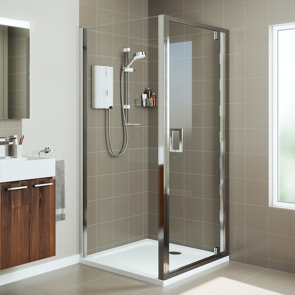 Mira Leap pivot shower door