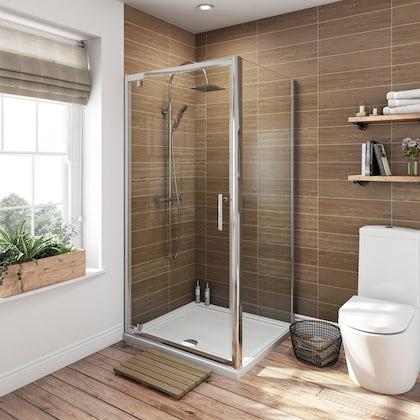 Square Shower Enclosures | Square Shower Cubicle | VictoriaPlum.com