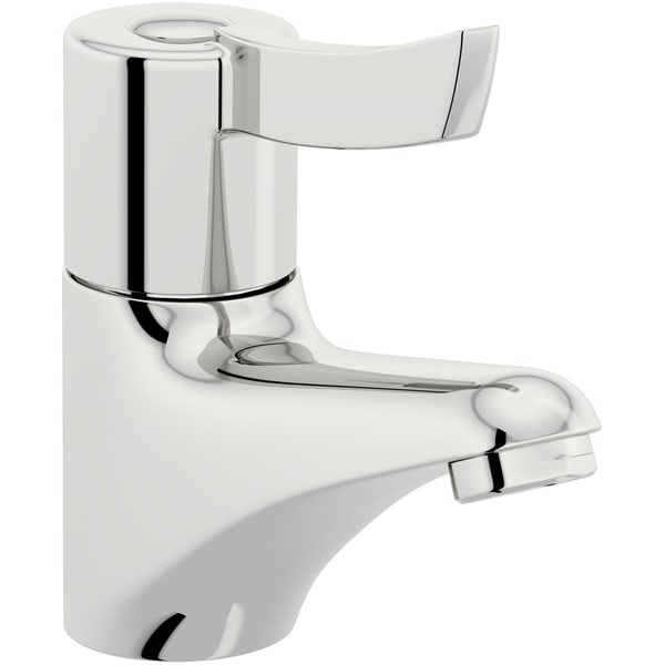 Kirke Sequential thermostatic single lever basin mixer tap