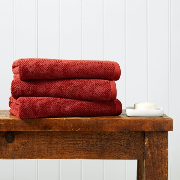 Christy Brixton cinnabar bath towel