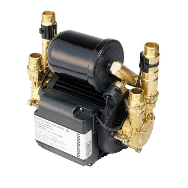 Stuart Turner Monsoon universal 3.0 bar twin shower pump