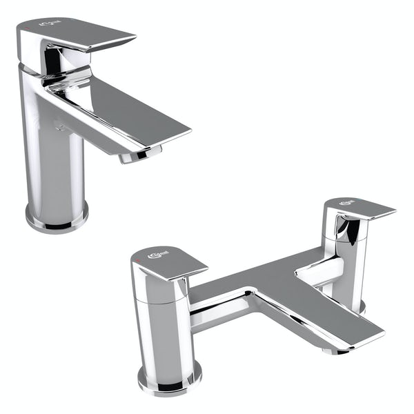 Ideal Standard Concept Air complete left hand shower bath suite 1700 x 800
