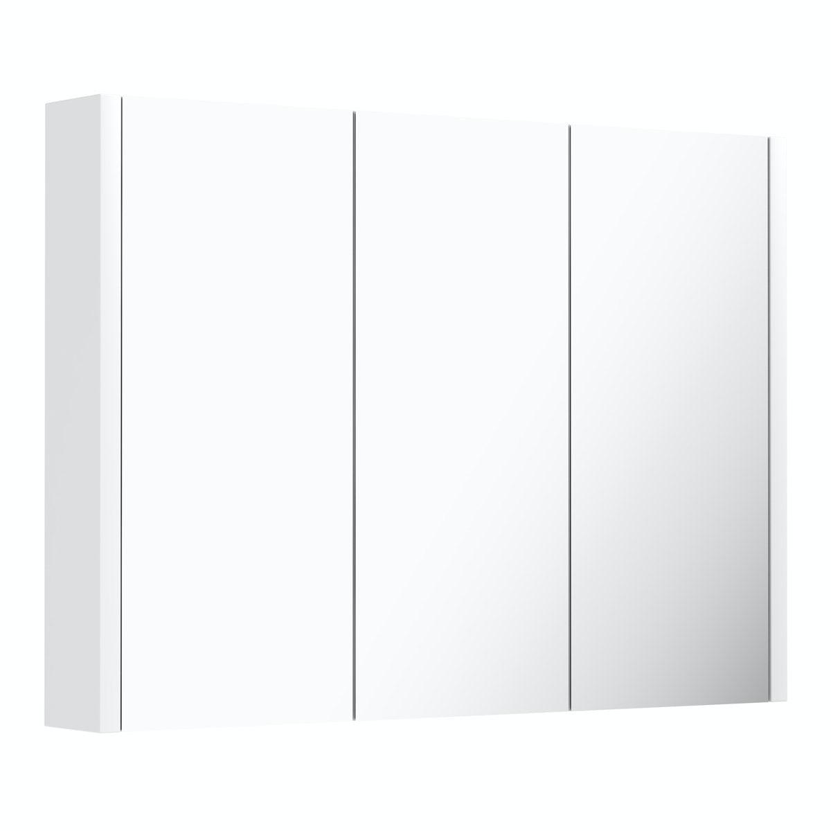 Derwent 3 Door mirror cabinet