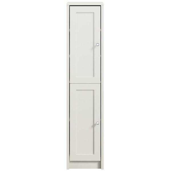 Dulwich ivory tall storage unit