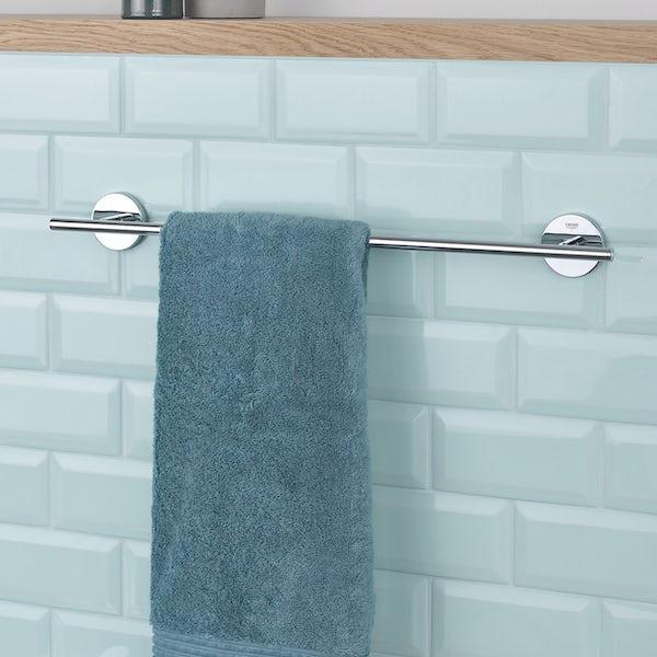 Grohe BauCosmopolitan towel rail 430mm