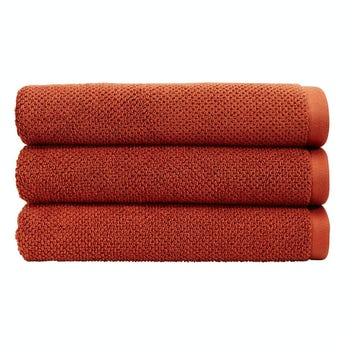 Christy Brixton cinnabar bath sheet