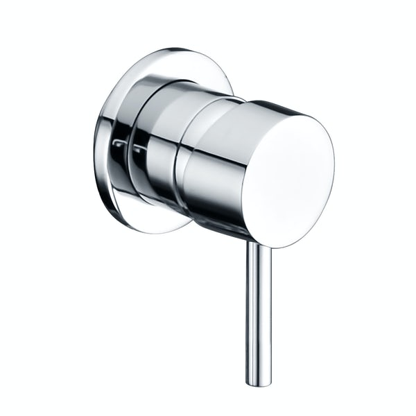 Round Manual Shower Valve