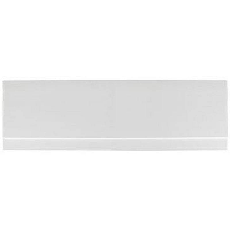Orchard White wooden straight bath front panel 1700mm