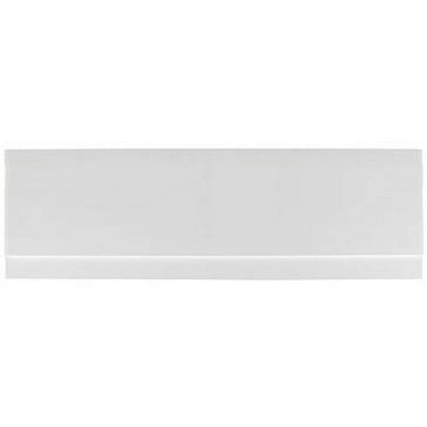 Gloss White Wooden Bath Side Panel 1700