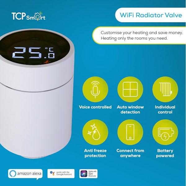 TCP Smart WiFi hub and radiator valves starter kit