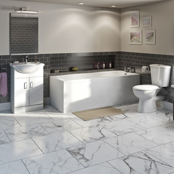 Orchard Eden furniture and straight bath suite 1500 x 700