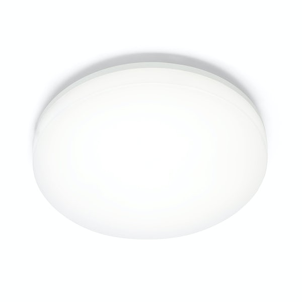 Forum Meira bulkhead ceiling light with emergency function