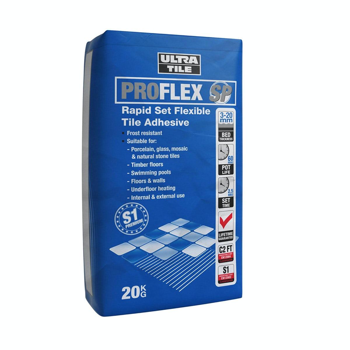 Ultra Tile Pro Flex Rapid Set Wall And Floor Tile Adhesive