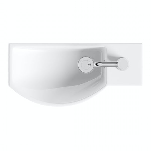 Orchard Constance 1 tap hole basin 405mm with tap