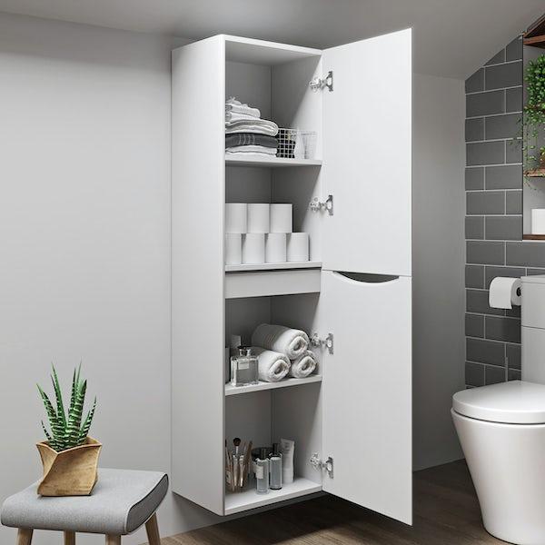 Mode Adler white wall cabinet