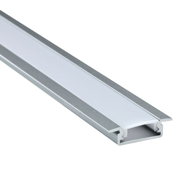Mode Recessed aluminium profile 1m