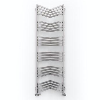 Terma Incorner chrome effect designer towel rail