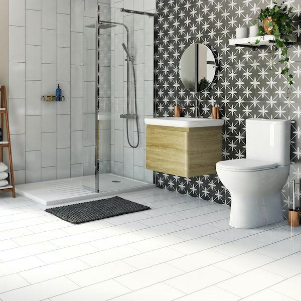 Mode Heath complete shower enclosure suite 1400 x 900