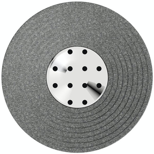 Accents grey soap dish