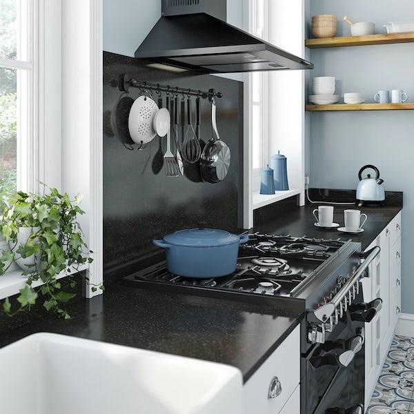 Formica Aria 12mm black granite lustre worktop