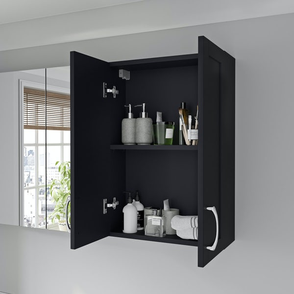 Reeves Newbury indigo wall hung cabinet 720 x 500mm