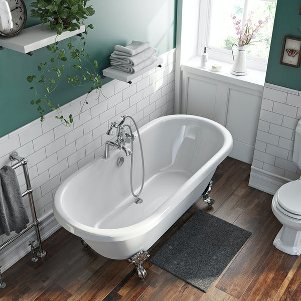 The Bath Co. Traditional double ended roll top bath