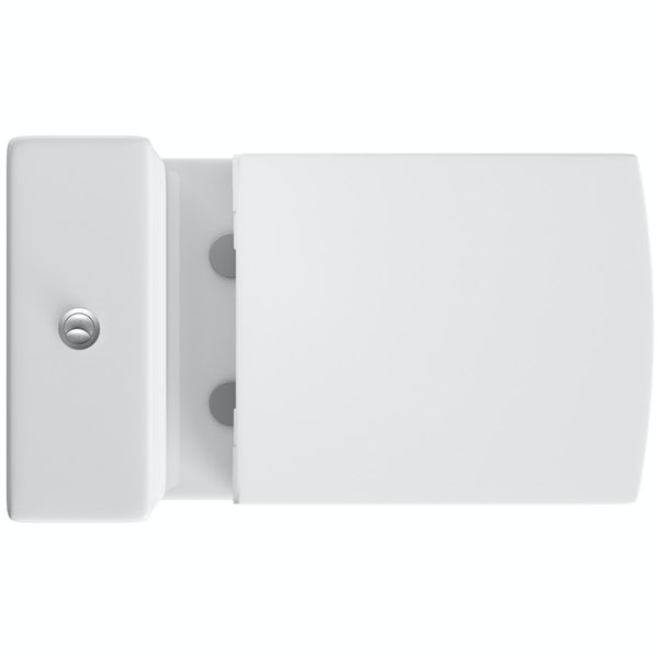 Mode Austin close coupled toilet with soft close seat