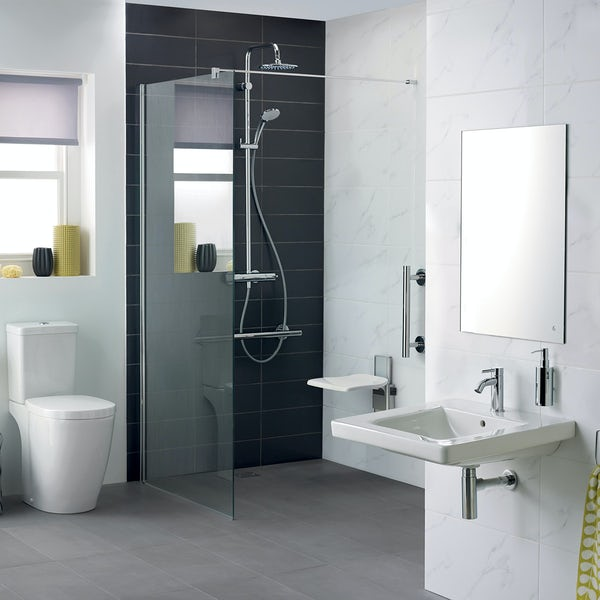 Ideal Standard Concept Freedom complete accessible wet room suite 1000mm with
