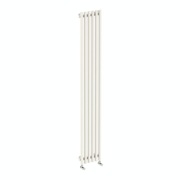 Tune soft white single vertical radiator 1800 x 290