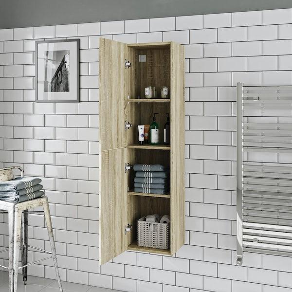 Mode Austin oak wall cabinet