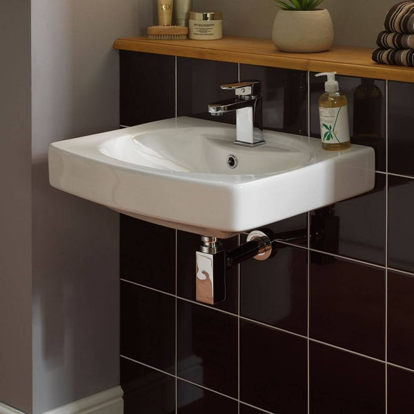 Wall Hung Basin Square Bottle Trap Victoriaplum Com