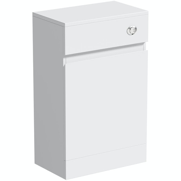 Mode Hardy white back to wall toilet unit 500mm