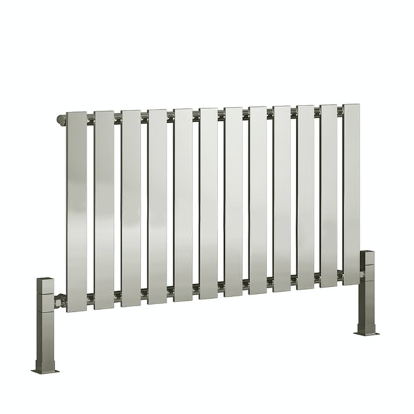 Reina Pienza chrome steel designer radiator